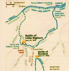 Battle of Rosebud by Mangum 2012 HBDJ 2nd Pr. Plains Indian Wars West Fine