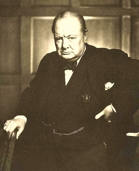 Essay/Term paper: Winston churchill