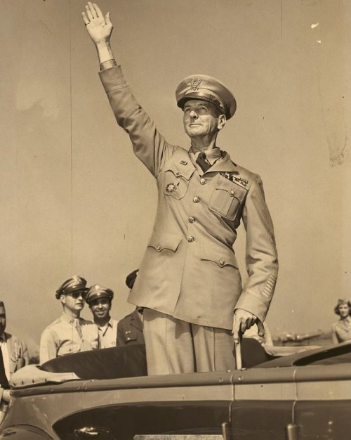 He did not escape to Australia. He surrendered when ordered. He made the Death March. He endured the captivity and he survived to help accept the Japanese surrender in Tokyo Bay on board the USS Missouri and return to a heroes welcome. All praise and honor to General Jonathan Wainwright.