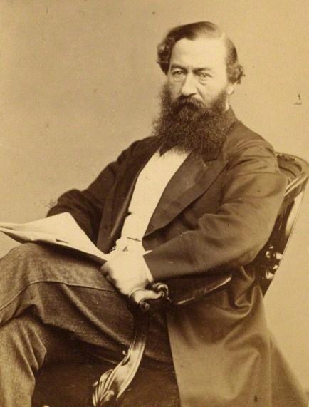 NPG Ax18286; Sir Samuel White Baker by Henry Joseph Whitlock