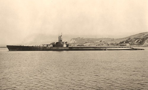 USS Tang (SS-306) Off the Mare Island Navy Yard, California, 2 December 1943.Official U.S. Navy Photograph, from the collections of the Naval Historical Center.