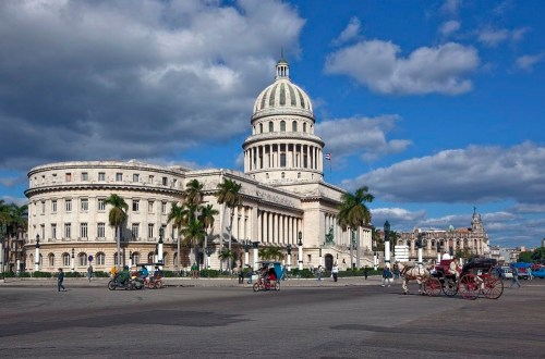 The Havana Capitol was built from April 1, 1926-1929 and cost 17 million pesos