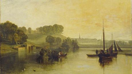 Petworth, Sussex, the Seat of the Earl of Egremont: Dewy morning 1810