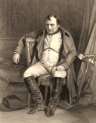 Napoléon à Fontainebleau, 31 Mars 1814