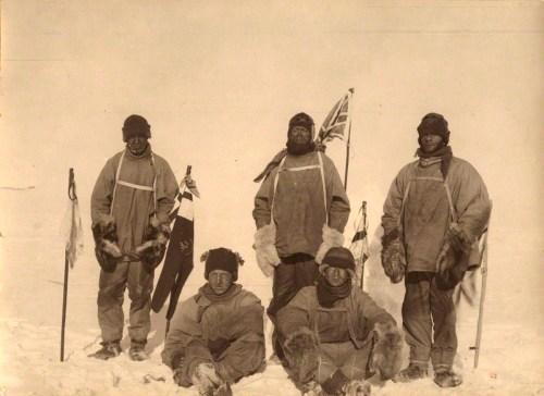 Lawrence Edward Grace Oates; Henry Robertson ('Birdie') Bowers; Robert Falcon Scott; Edward Adrian Wilson; Edgar Evans