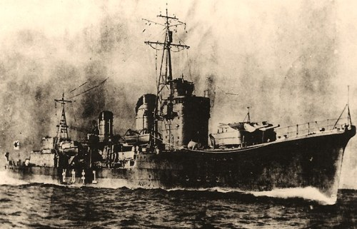 Yukikaze (Japanese destroyer, 1940)Underway off Sasebo, Japan, in January 1940.