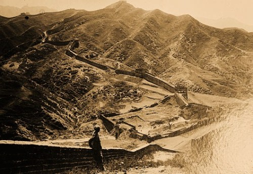 Great wall of China [1936 or 1937]