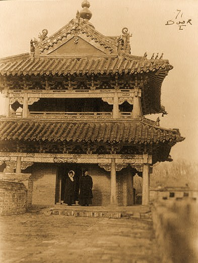 China - [Pagoda] on the Great Wall at Shan-Hai-Kwan  [between 1910 and 1920]