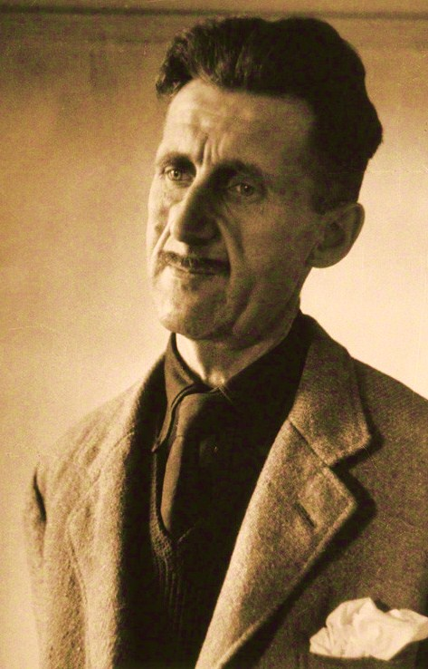 NPG P865; George Orwell by Felix H. Man (Hans Baumann)