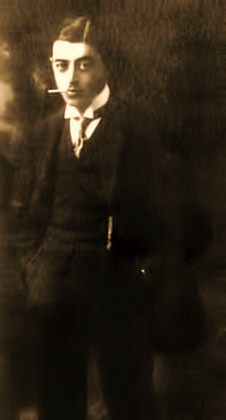 The first impression of Reilly is unpleasant. His dark eyes expressed something biting and cruel; his lower lip drooped deeply and the neat black hairwas too slick, the demonstratively elegant suit... Everything in his manner expressed something haughtily indifferent to his surroundings...  Alexander Yakushev