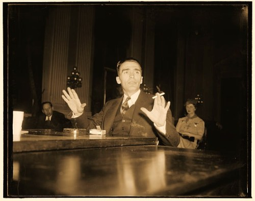 William G. Ryan, of Milwaukee today told the Dies Committee that Communist Party members regard it as a generally accepted fact that the American Youth Congress is controlled by the Communist Party. Ryan, a former member of the Communist Party, said that he served 17 months with the Abraham Lincoln Brigade in Spain and then 'escaped'