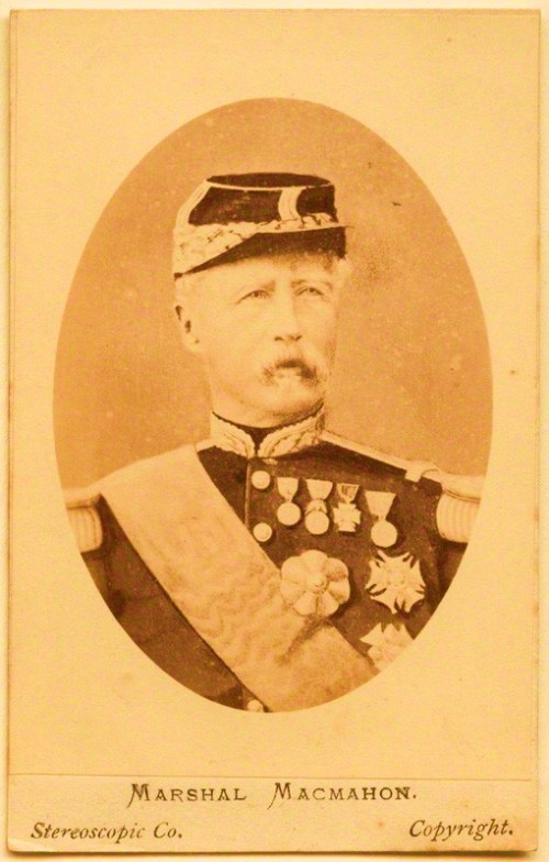 Marie Edme Patrice Maurice de Mac-Mahon, Duke of Magenta (1808-1893), Marshal of France