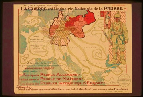 War is the national industry of Prussia. 'Attacked, we are fighting back in the name of liberty.' Général Philippe Pétain (1856-1951), June 1917.