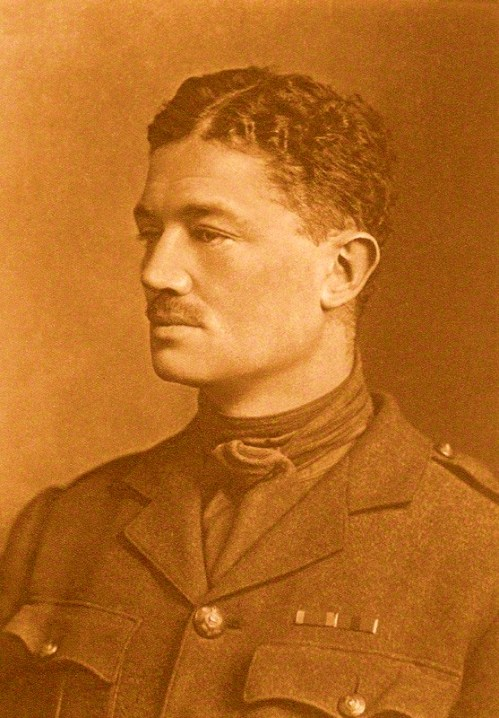 ''The thundering line of battle stands,     And in the air Death moans and sings:     But Day shall clasp him with strong hands,     And Night shall fold him in soft wings.''  Julian Grenfell (1888-1915), British poet. Into Battle (l. 43-46)