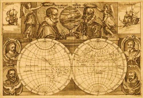 Cicumnavigators; Sir Francis Drake; Oliver van Noort; Ferdinand Magellan; Wilhelm Schouten; Thomas Cavendish; George Spilman