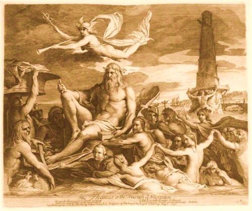 The Thames, or the Triumph of Navigation' (James Cook; Sir Walter Ralegh; Sir Francis Drake; Charles Burney)