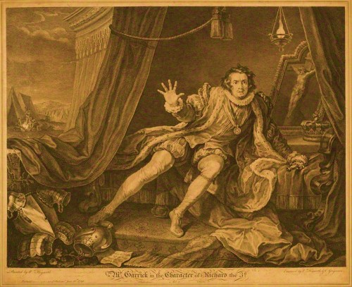 Mr Garrick in the Character of Richard III