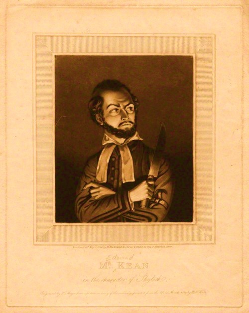 Edmund Kean as Shylock