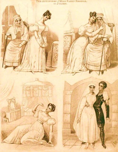 Fanny Kemble as Juliet