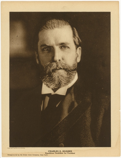 Charles E. Hughes, Republican candidate for president [1916]